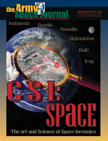 Volume 4, Number 2 - Space and Missile Defense Command - U.S. ...