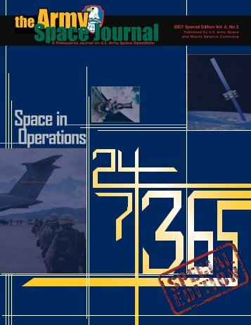 Volume 6, Number 2 - Space and Missile Defense Command - U.S. ...