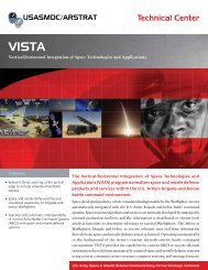 Vertical/horizontal Integration of Space Technologies and Applications