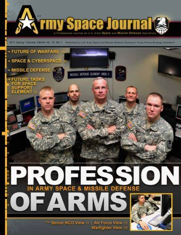 Spring 2011 - Space and Missile Defense Command - U.S. Army