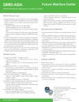 DMO–ADA - Space and Missile Defense Command - U.S. Army - Page 2