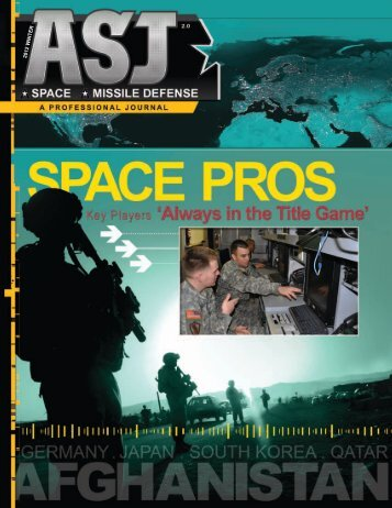 2012 Winter - Space and Missile Defense Command - U.S. Army