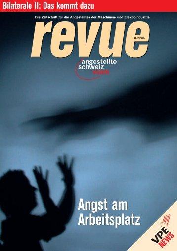 Revue 2 2005 - Angestellte Schweiz