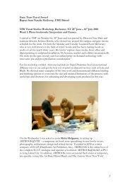 1 Gane Trust Travel Award Report from Natalie McGrorty, UWE ...