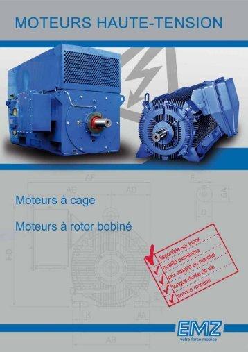 EMZ Catalogue moteurs haute tension