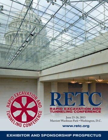 www.retc.org EXHIBITOR AND SPONSORSHIP PROSPECTUS - SME