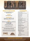 Annual Meeting Preliminary Program - Full Brochure (PDF) - SME - Page 3