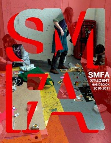 Student Handbook 2010 2011 - School of the Museum of Fine Arts