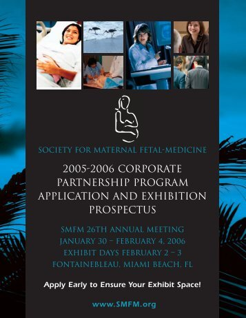 Corporate Partnership Program and Exhibition Prospectus