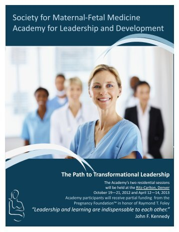 SMFM Academy for Leadership and Development - Society for ...