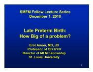 cme chop edu - Society for Maternal-Fetal Medicine