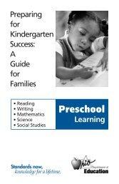 Preschool - Medina County Board of Developmental Disabilities