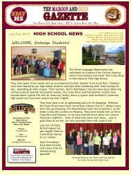 January/February 2013 Newsletter - Stow Munroe Falls City School ...