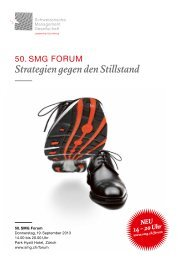 Programm - SMG