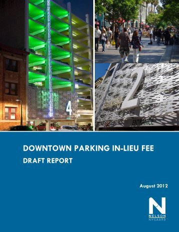 DOWNTOWN PARKING IN-LIEU FEE - City of Santa Monica