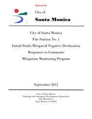 Final Initial Study/Mitigated Negative Declaration - City of Santa ...