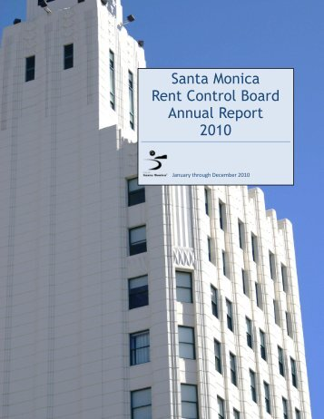2010 - City of Santa Monica