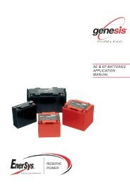 EN-GPL-AM-005 - Enersys - EMEA