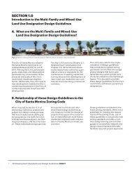Design Guidelines for multi-family residential zones - City of Santa ...