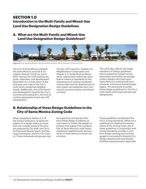 Design Guidelines for multi-family residential zones - City