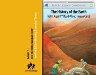 The History of the Earth - EngageNY