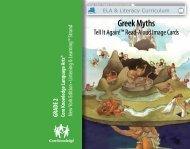 Greek Myths - EngageNY