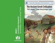 The Ancient Greek Civilization - EngageNY
