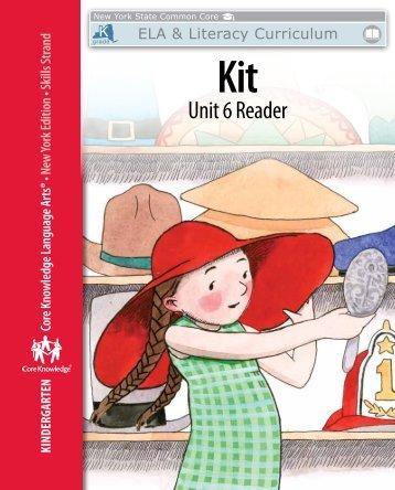 Kindergarten: Skills Unit 6 Reader - EngageNY