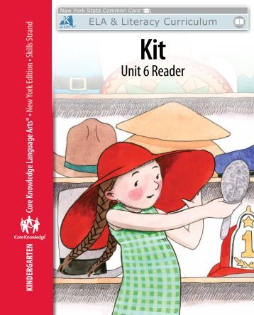 Kindergarten: Skills Unit 6 Reader - EngageNY
