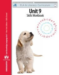Skills Unit 9 Workbook - EngageNY