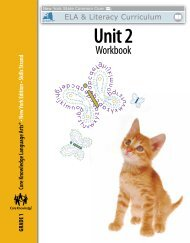 Grade 1: Skills Unit 2 Workbook - EngageNY