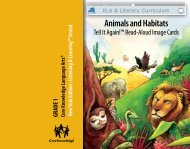 Animals and Habitats - EngageNY