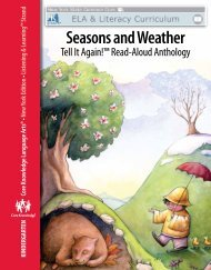 Seasons and Weather - EngageNY