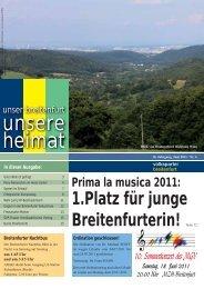 Breitenfurter Vereine - VP Breitenfurt - Volkspartei Niederösterreich