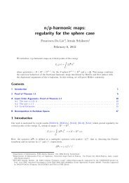 n/p-harmonic maps: regularity for the sphere case - Personal ...