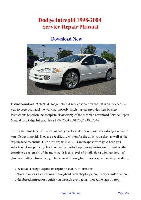 1999 dodge intrepid engine diagram | manual e-books.