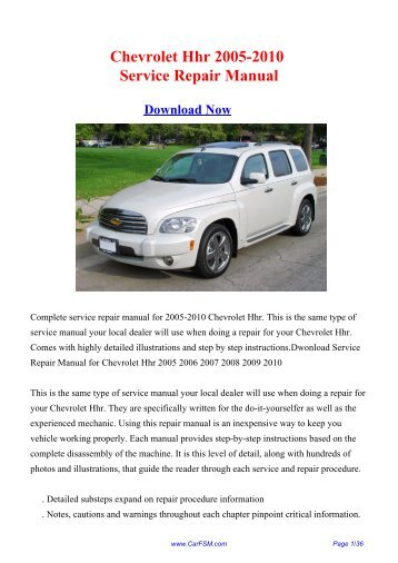 Chevrolet repair user manuals download user manuals array download 2000 2006 chevrolet epica workshop repair manual rh fandeluxe Gallery