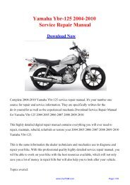 Download 2004 2005 Honda Cbr1000rr Workshop Repair Manual