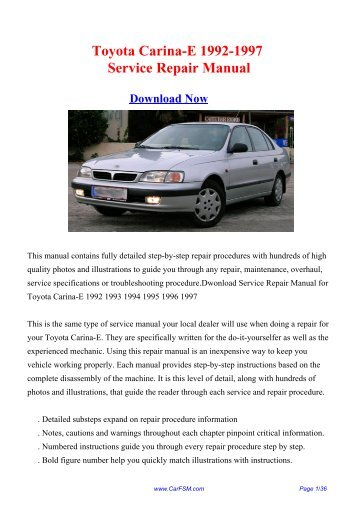 ford sierra rs 1992 1996 service repair manual