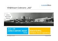 Flughafen Zürich AG – wieso Desktopvirtualisierung von ... - Digicomp