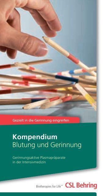 Kompendium Blutung und Gerinnung