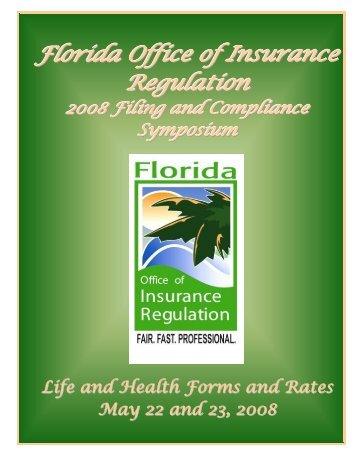 (850) 413-3152 Fax - Florida Office of Insurance Regulation