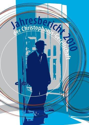 Jahresbericht 2010 -  Christophorus Gesellschaft