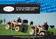 Stock number survey 30 June 2013