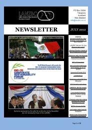 NEWSLETTER - Latin America New Zealand Business Council