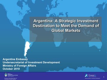 Inversion Argentina - Latin America New Zealand Business Council