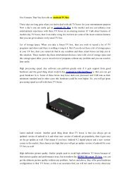 Few Features That You Get with an Android TV Box.pdf