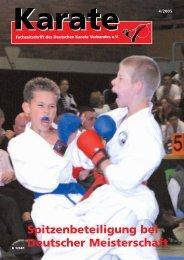 DKV - Chronik des deutschen Karateverbandes