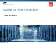 Augmented Product Innovation - SMI