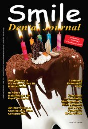 Download - Smile Dental Journal